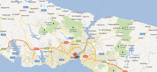 Hizmet Bölgesi (İSTANBUL)